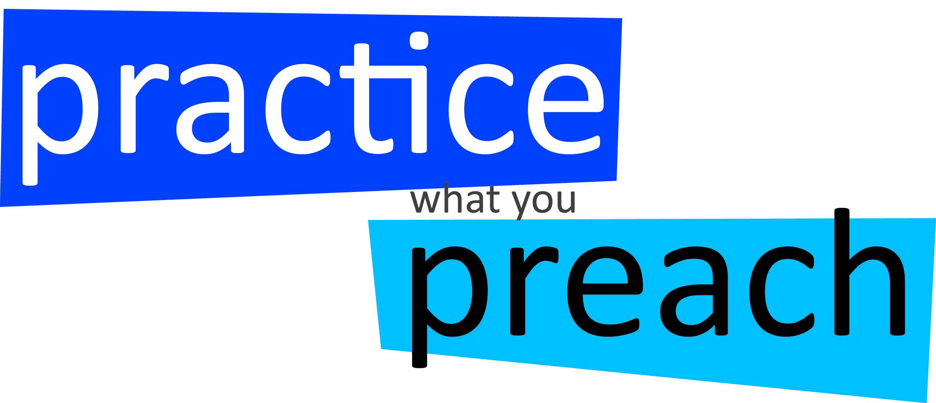 """practice what you preach Hands up if you know more than five """"social media experts"""" ten fifteen when i started my first business i didn't """"know"""" what i was doing when i started my second business, i still didn't """"know"""" what i was doing nor did i know what i was """" doing"""" when i started my third business or my podcast, if we're being honest."""